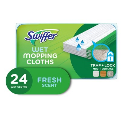 Swiffer Sweeper Wet Mopping Cloths Open-Window Fresh - 24ct