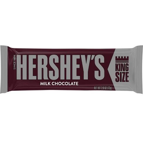 HERSHEY'S Milk Chocolate King Size Bar 2.6 oz - image 1 of 4