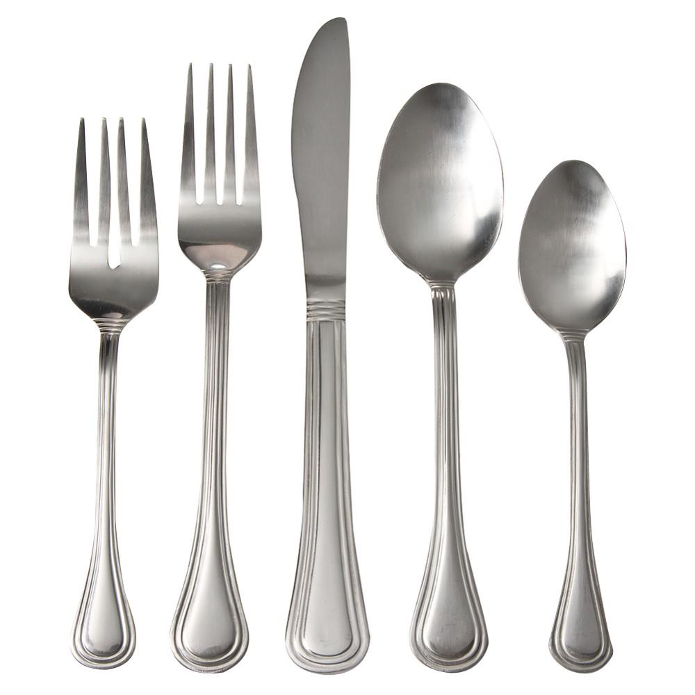 Image of South Bay 20-pc. Silverware Set Plus 4 Bonus Steak Knives