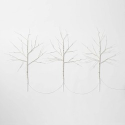 3ct Christmas Birch LED Twig Stake Holiday Arrangement Stems Lights Warm White - Wondershop™