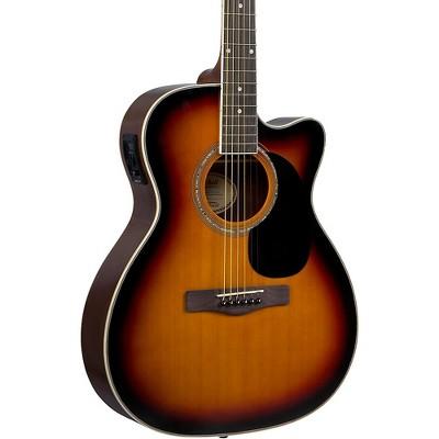 Mitchell O120CESB Auditorium Acoustic-Electric Guitar 3-Color Sunburst
