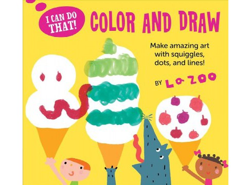 Color and Draw (Paperback) (LA Zoo) - image 1 of 1