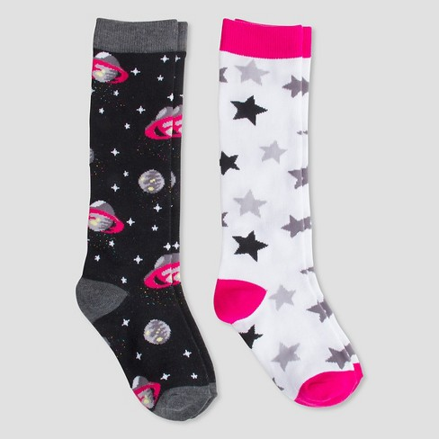 Girls' Casual Socks Pink - Cat & Jack™ - image 1 of 1