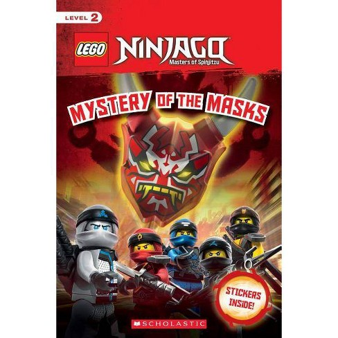 Mystery of the Masks - (Lego Ninjago) by  Kate Howard (Paperback) - image 1 of 1