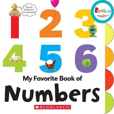 My Favorite Book of Numbers (Rookie Toddler)- by Janice Behrens (Board_book)