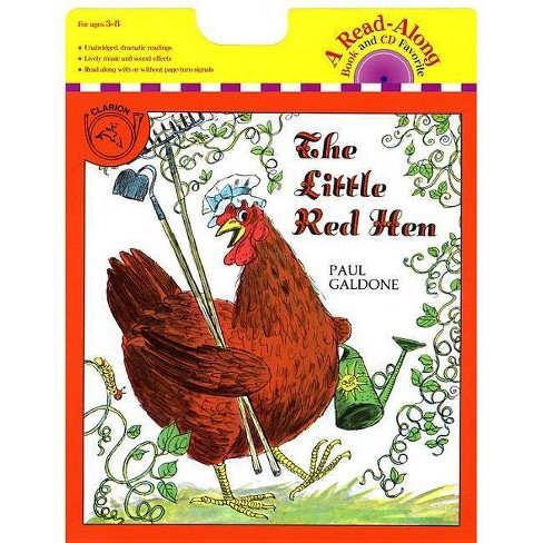 The Little Red Hen Book & CD - (Paul Galdone Classics) by  Paul Galdone (Mixed media product) - image 1 of 1