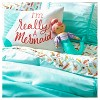I'm Really A Mermaid Pillowcase (Standard) White - Pillowfort™ - image 4 of 4