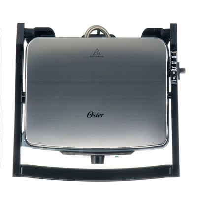 Oster® 3-in-1 Panini Maker and Indoor Grill CKSTPM40-TECO