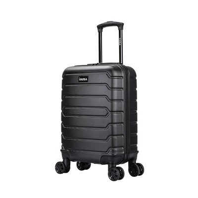 """InUSA Trend 20"""" Lightweight Hardside Carry On Spinner Suitcase"""