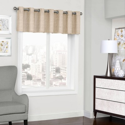 "18""x52"" Trevi Thermalined Window Valance - Eclipse"