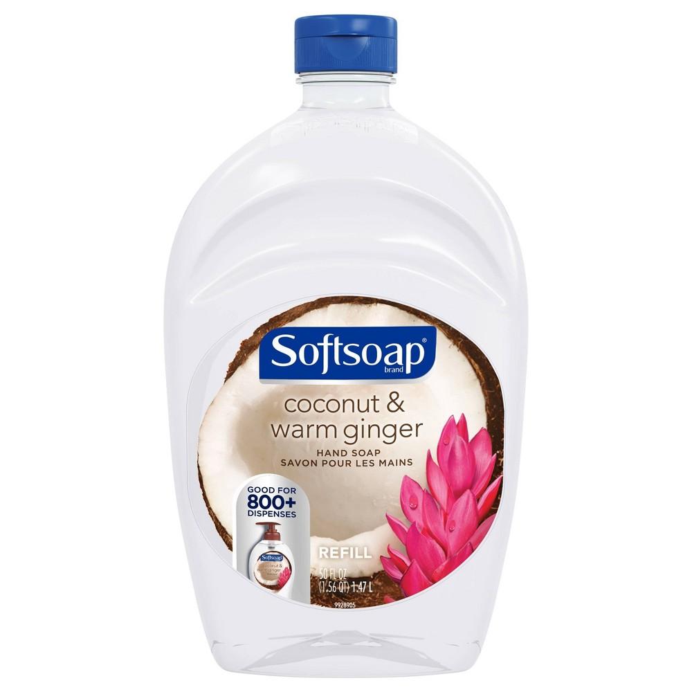 Image of Softsoap Liquid Hand Soap Refill Coconut & Warm Ginger - 50 fl oz
