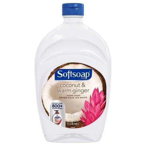 Softsoap Liquid Hand Soap Refill - Coconut & Warm Ginger - 50 fl oz - image 1 of 3