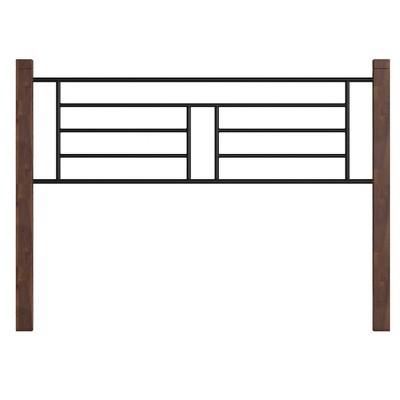 Raymond Metal Headboard Brown - Hillsdale Furniture
