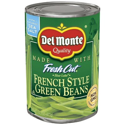 Del Monte Fresh Cut French Style Green Beans - 14.5oz