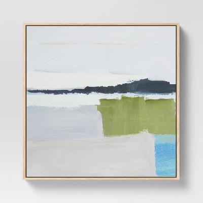 """24"""" x 24"""" Abstract Framed Wall Canvas - Project 62™"""