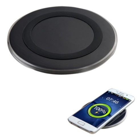 MYBAT Wireless Charger Charging Pad Power Charge For all Qi-Enabled Devices, Black - image 1 of 2