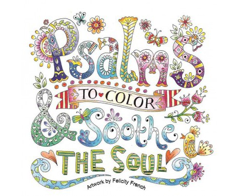 Psalms to Color & Soothe the Soul (Paperback) - image 1 of 1