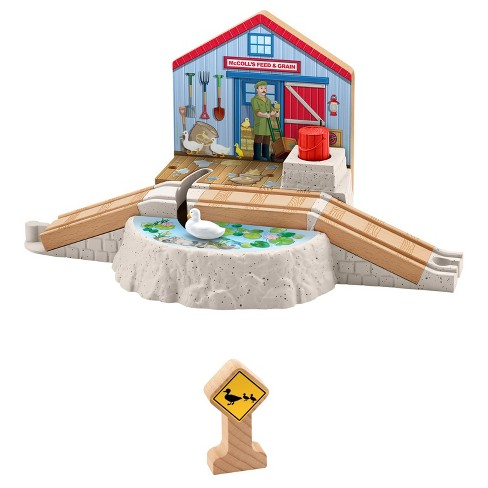 Fisher-Price Thomas & Friends Wooden Railway Duck Pond Crossing - image 1 of 7