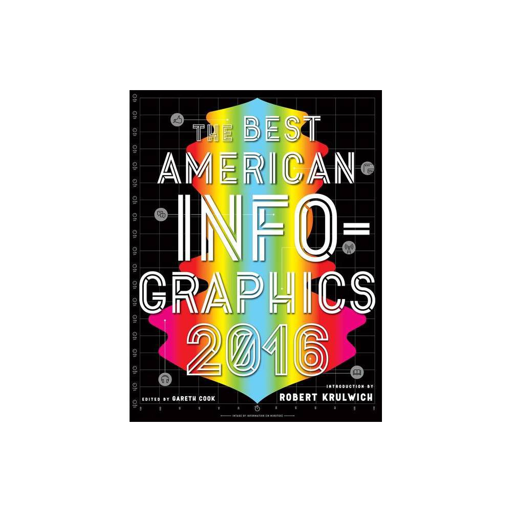The Best American Infographics Best American Series R By Gareth Cook Robert Krulwich Paperback