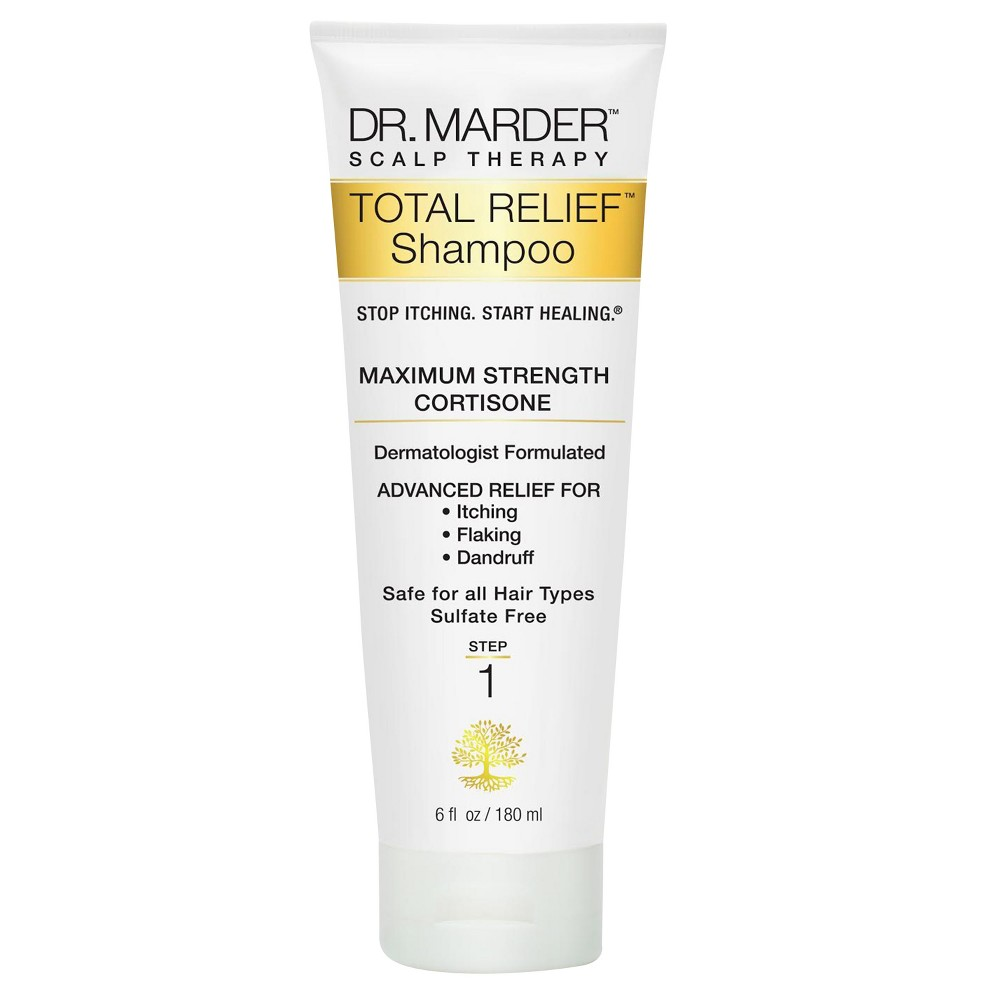 Image of Dr. Marder Scalp Therapy Stop Itching Start Healing - Total Relief Shampoo - 6 fl oz