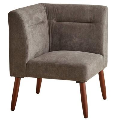 "30"" Ariel Corner Sectional Sofa with Wood Legs - Ore International"