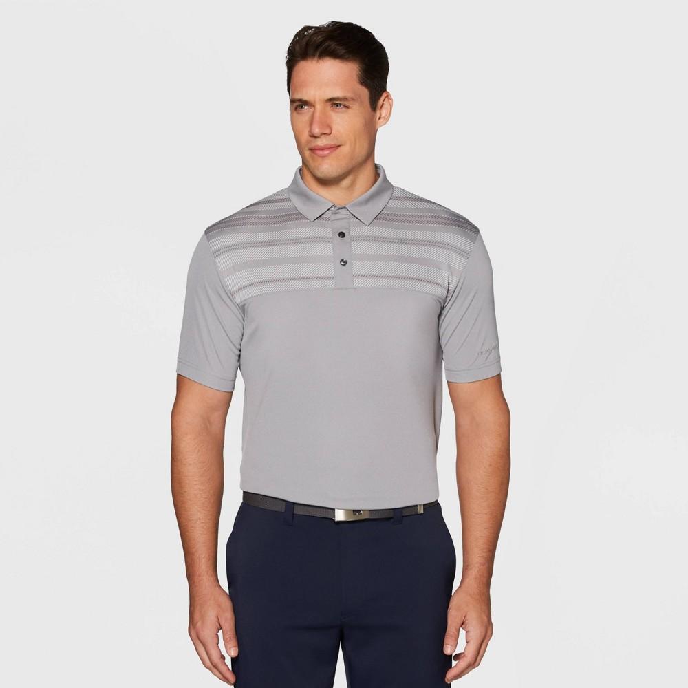Image of Men's Jack Nicklaus Golf Polo Shirt - Bright White M, Size: Medium