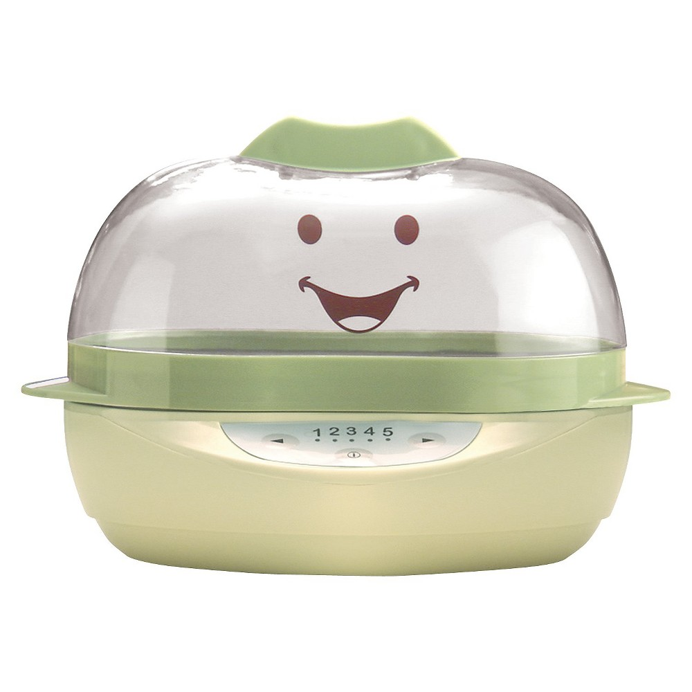 Image of Baby Bullet Turbo Steamer, Green/Yellow