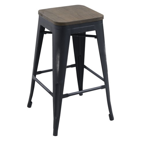 Iohomes Slack Contemporary Counter Height Stools - image 1 of 3