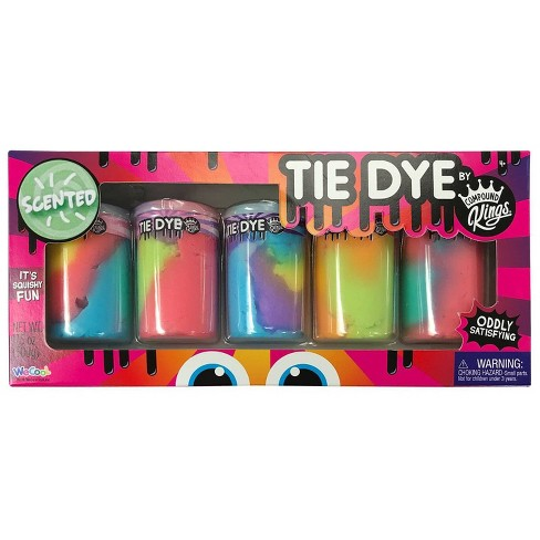 Tie Dye by Compound King Scented Slime 5pk - image 1 of 1