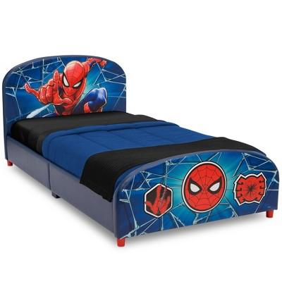 Twin Spider-Man Upholstered Bed - Delta Children