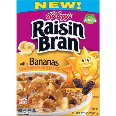 Breakfast Cereal: Kellogg's Raisin Bran