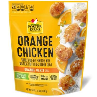 Foster Farms Orange Breaded Chicken - 24oz