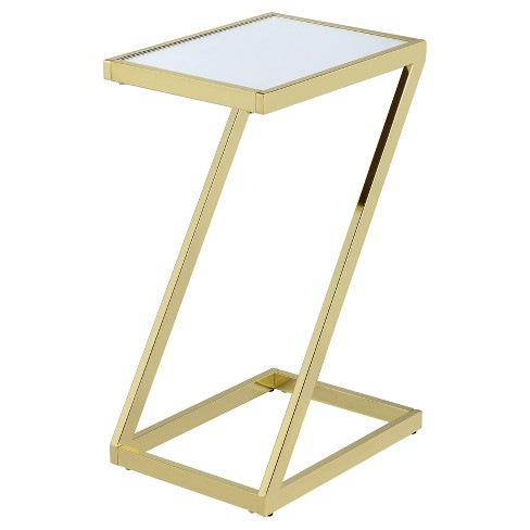 End Table Gold - image 1 of 6