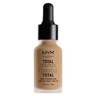 NYX Professional Makeup Total Control Drop Foundation - Nude - 0.43 fl oz