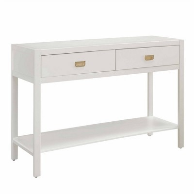 Ordinaire Peggy Console Table White   Linon