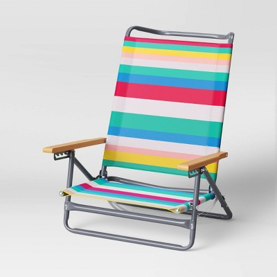 5-Position Beach Sand Chair - Sun Squad™