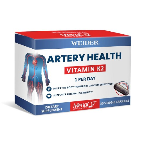Weider Artery Health Dietary Supplement Capsules - 30ct - image 1 of 2