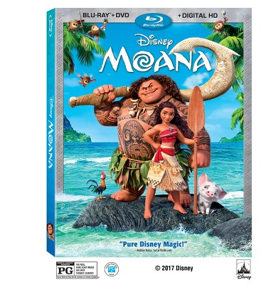 Moana (Blu-ray + DVD + Digital)