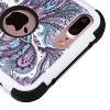 MYBAT For Apple iPhone 7 Plus Purple European Flowers Tuff Hard Hybrid Case Cover - image 3 of 3
