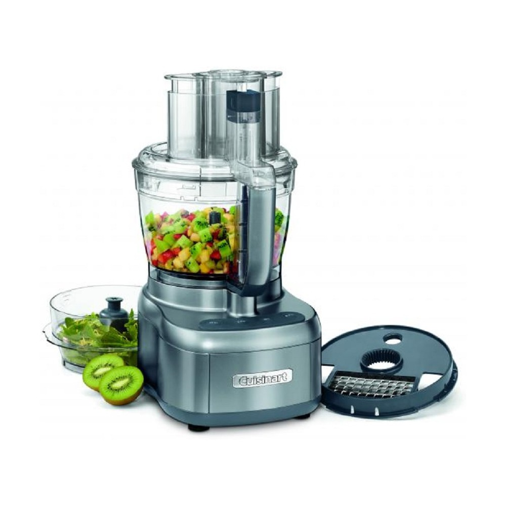 Cuisinart 13 cup Elemental Food Processor with Dicing FP-13DGM, Grey 53911374
