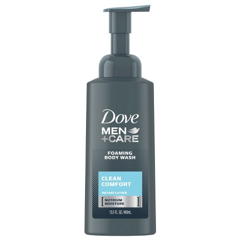 Dove Men Shower Foam Clean Comfort - 13.5oz - image 1 of 4