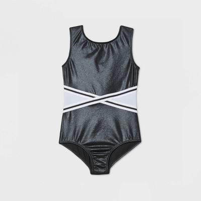 Girls' Gymnastics Leotard - More Than Magic™ Black