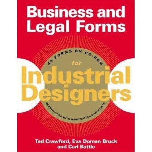 Business and Legal Forms for Industrial Designers - by  Carl Battle & Eva Doman Bruck & Tad Crawford - image 1 of 1