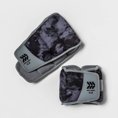 Ankle Weights 4lbs 2pc - All in Motion™
