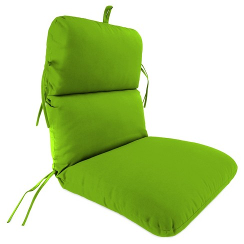 Outdoor knife edge dining chair cushion- Jordan Manufacturing - image 1 of 2