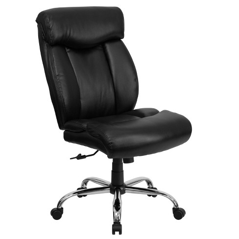 Hercules Series 400 Lb Capacity Tall Executive Swivel Office Chair Black Leather Flash Furniture Target