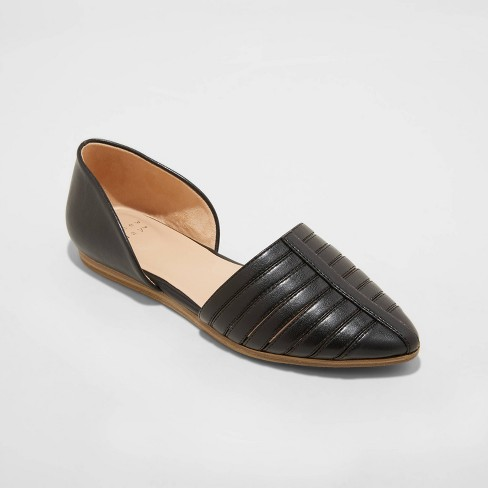 Women's Iris Two Piece Ballet Flats - A New Day™ - image 1 of 3