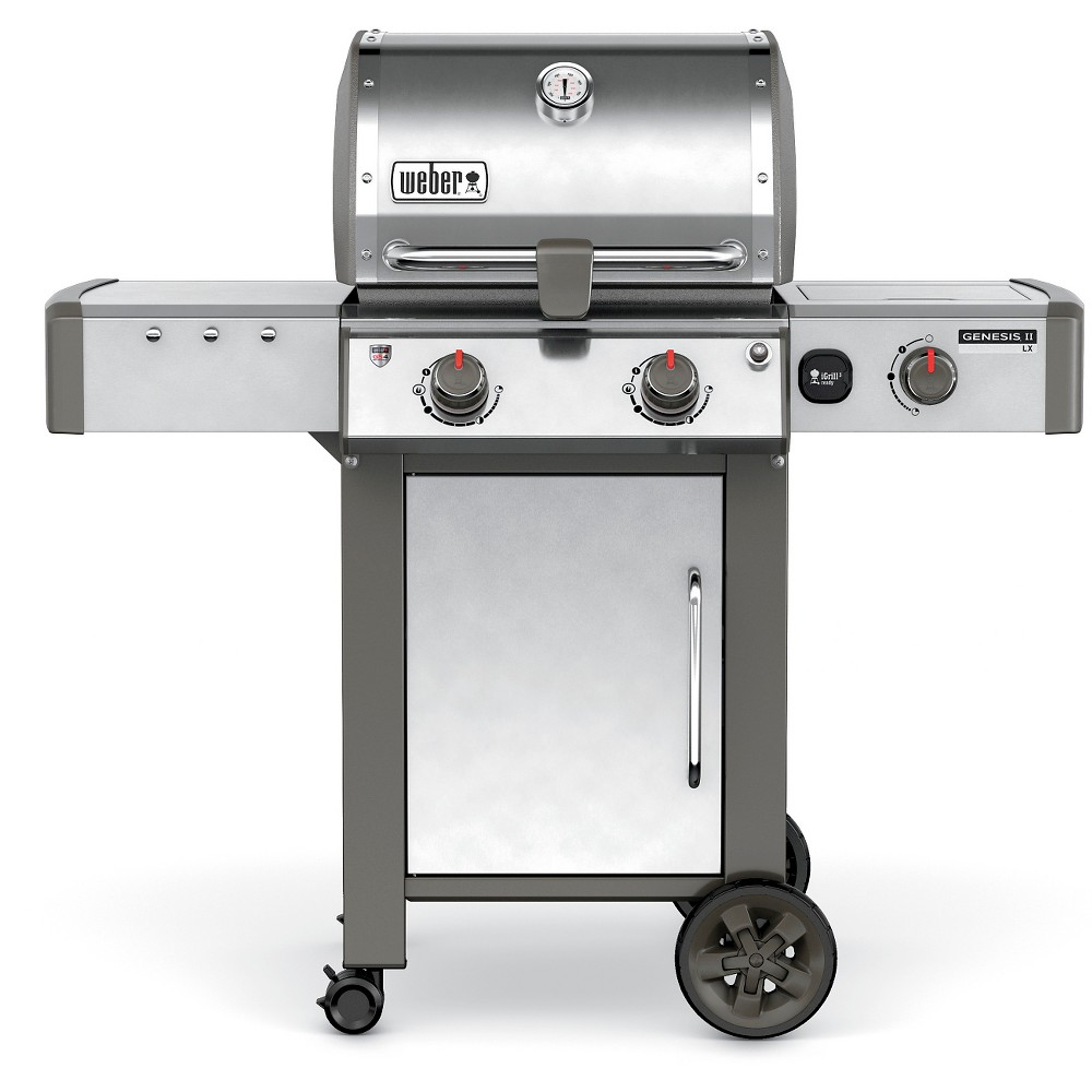 Weber Genesis II LX S-240 65004001 2-Burner Natural Gas Grill Stainless Steel (Silver) 51857273