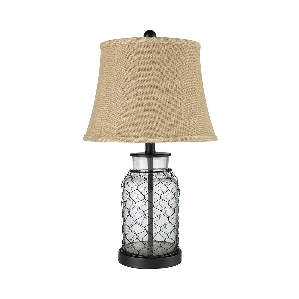 Image of Hillside Table Lamp Black (Includes Energy Efficient Light Bulb) - Pomeroy