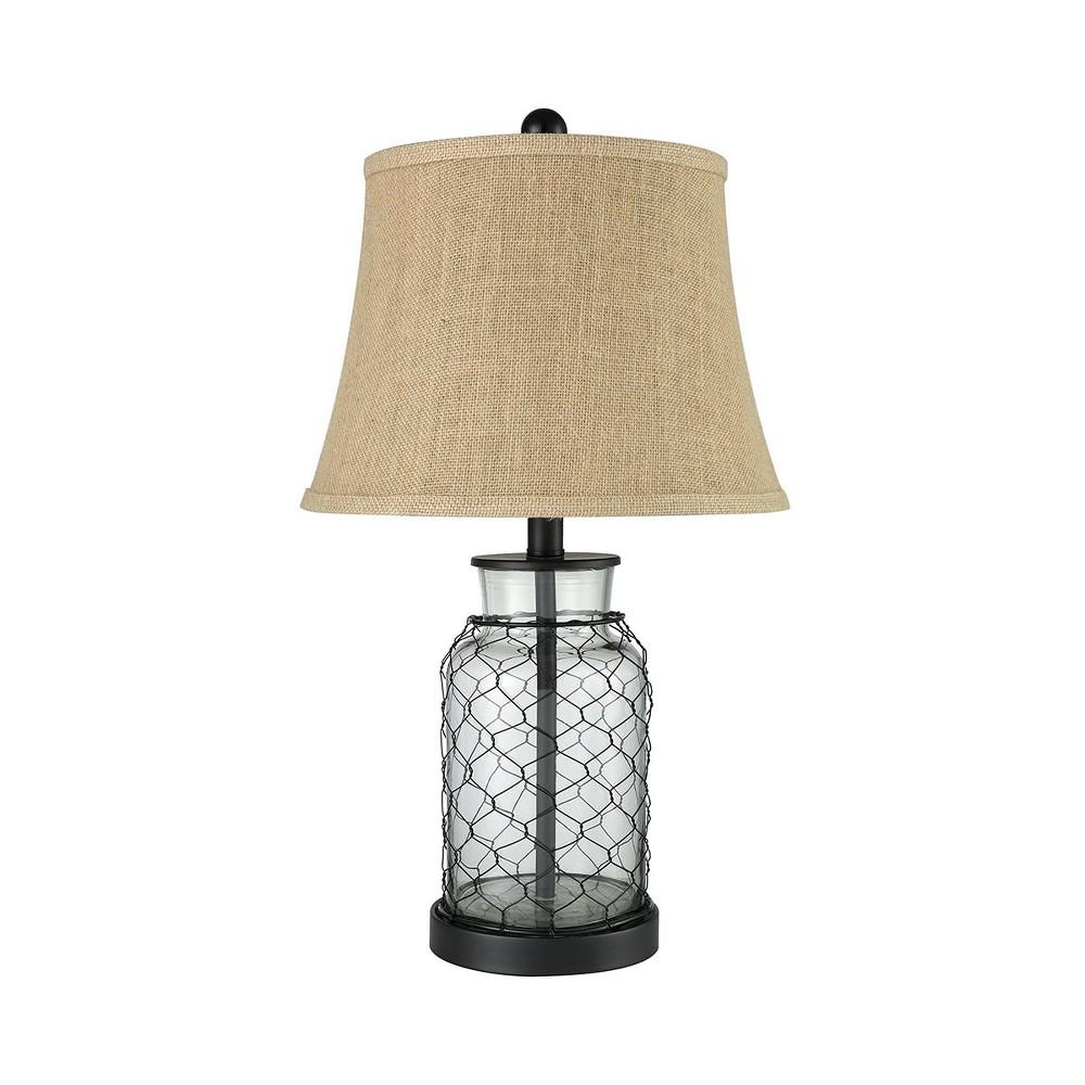 Hillside Table Lamp Black (Includes Energy Efficient Light Bulb) - Pomeroy